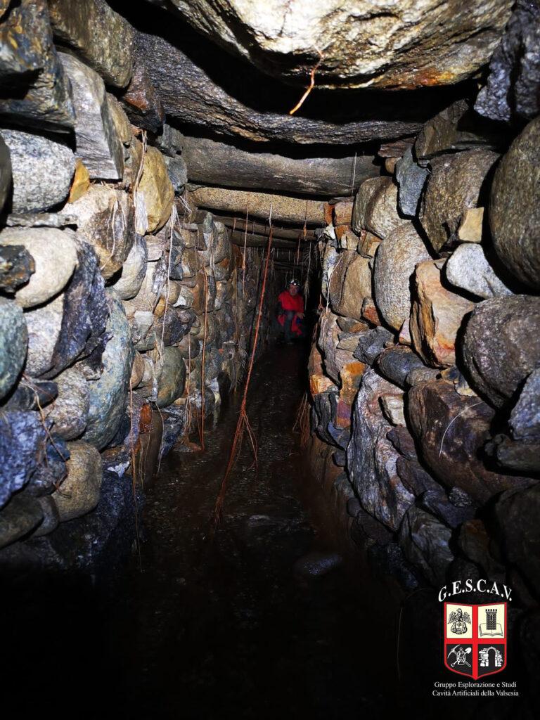 La galleria dell'acquedotto