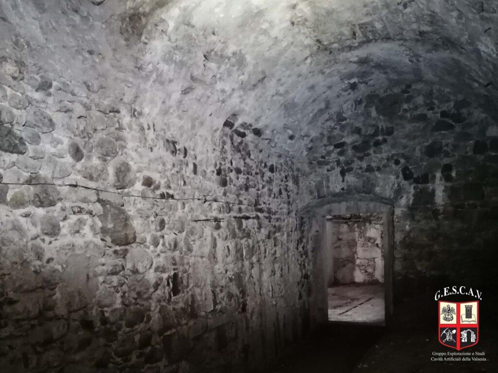 La cantina di Palazzo Scarognini-D'Adda