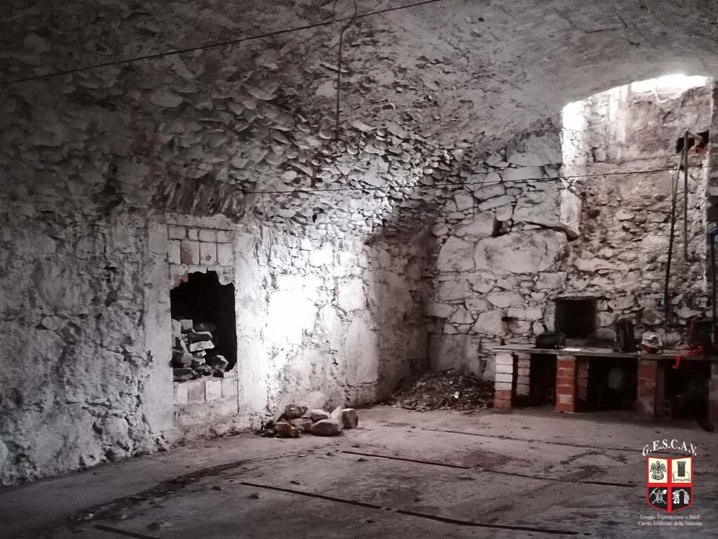 I sotterranei di Palazzo Scarognini-D'Adda