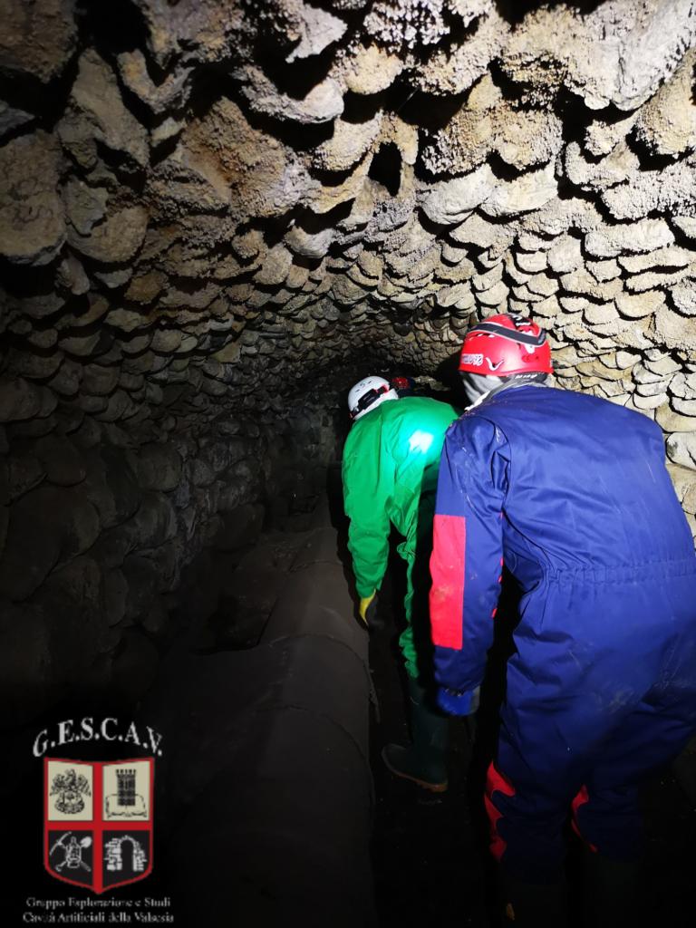 Il tratto sotterraneo della Roggia Molinara